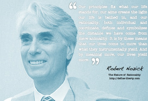 robert nozick and his entitlement theory philosophy essay Through nozick claims that his historical entitlement theory is not patterned, 15 it could be noted that where unlimited ownership of property exists and existed, along with inheritance, rough patterns emerge.